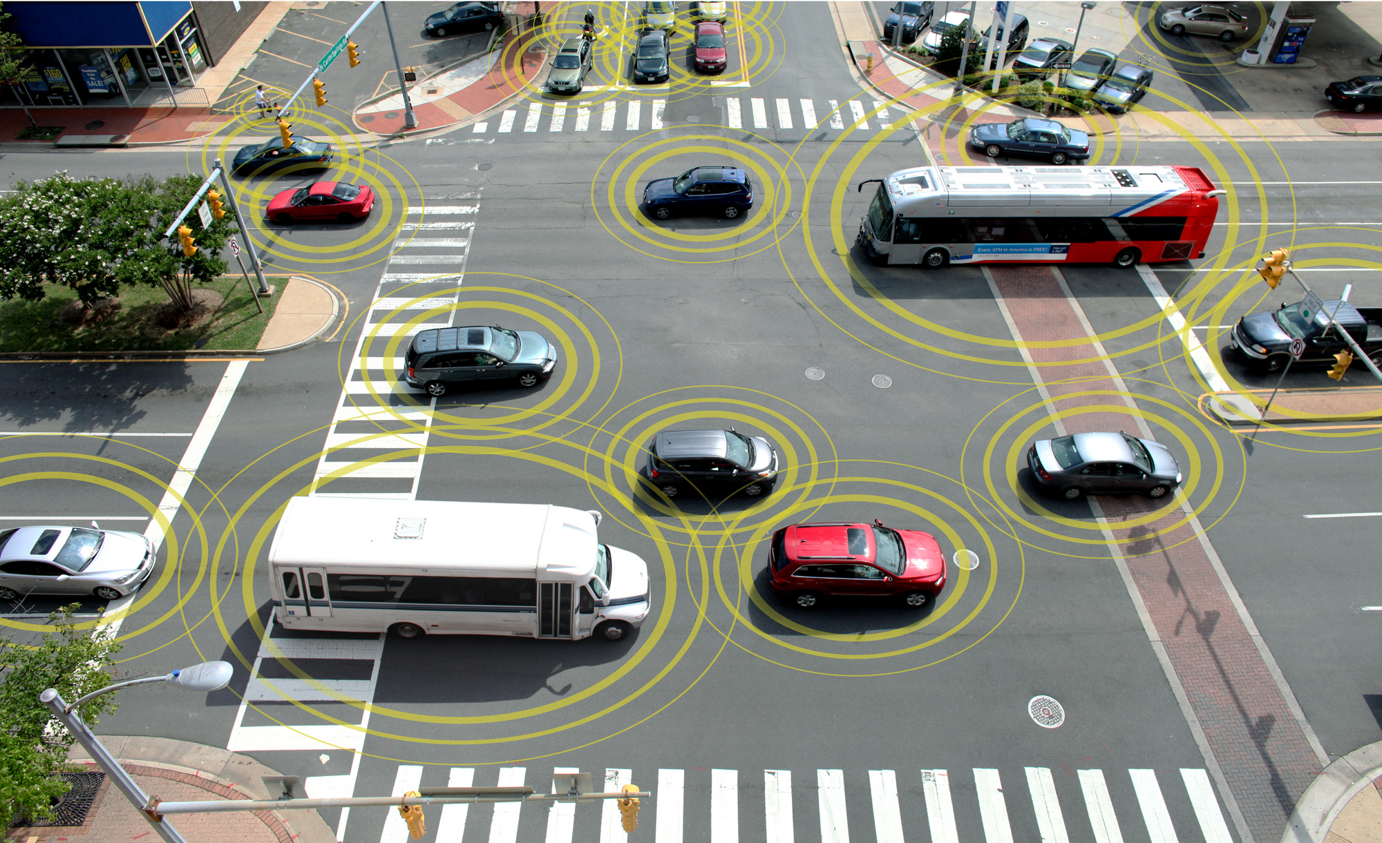 connected-cars-in-traffic