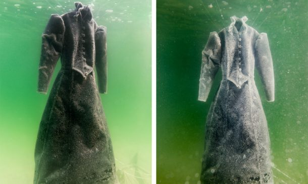 Dress Submerged In The Dead Sea For Three Months_Image 00