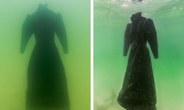 Dress Submerged In The Dead Sea For Three Months_Image 1