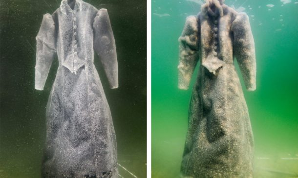 Dress Submerged In The Dead Sea For Three Months_Image 2