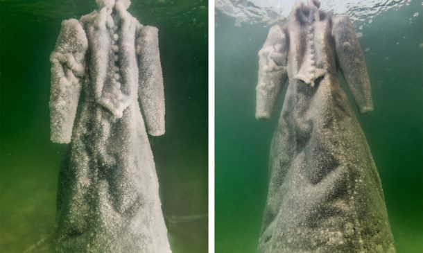 Dress Submerged In The Dead Sea For Three Months_Image 3