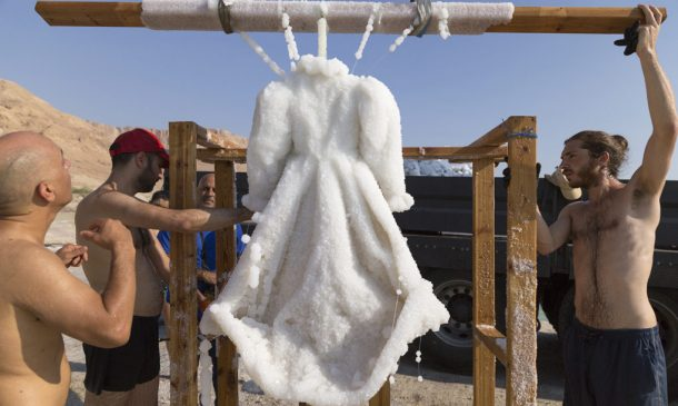Dress Submerged In The Dead Sea For Three Months_Image 6