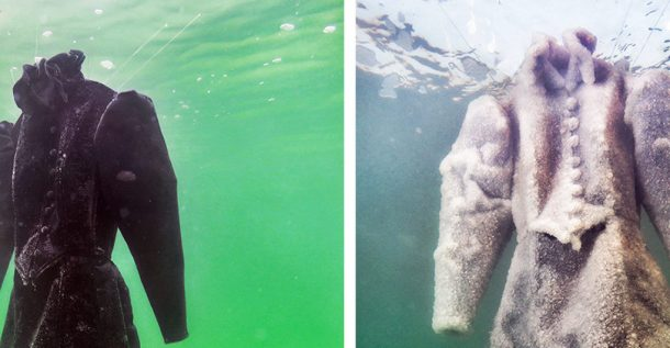 Dress Submerged In The Dead Sea For Three Months_Image 9