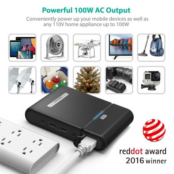 World's First Battery Pack With An AC Outlet Is Here - Evolu7ion.com