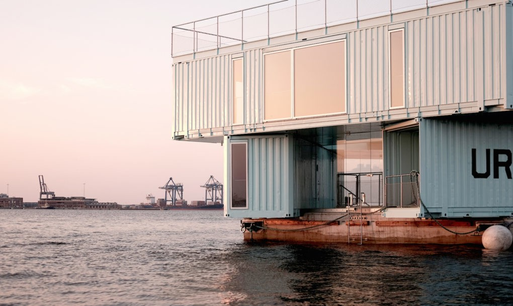 These Floating Shipping Containers Are The Affordable Student Housing Solution of The Future