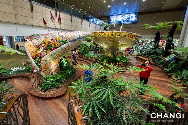 Terminal 2 - Transit - Enchanted Garden