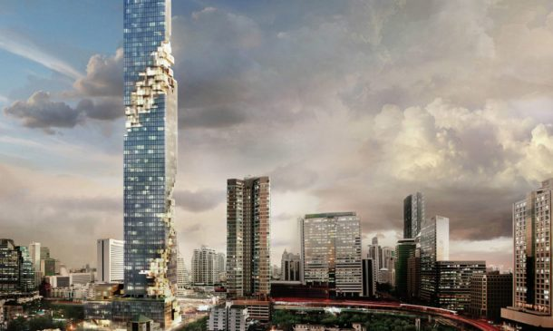 Thailand's Tallest Building Brings New Green Spaces To Bangkok_Image 0