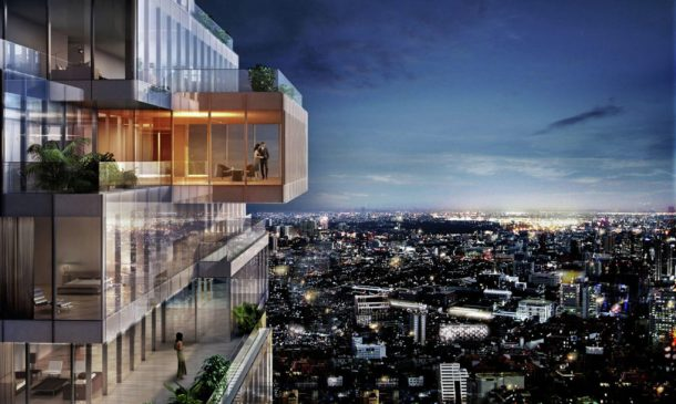 Thailand's Tallest Building Brings New Green Spaces To Bangkok_Image 1