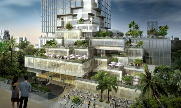 Thailand's Tallest Building Brings New Green Spaces To Bangkok_Image 3