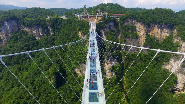 The World's Longest See-Through Zhangjiajie Glass Bridge In China Closes After Just Two Weeks_Image 0