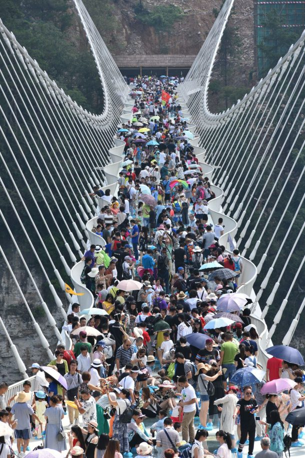The World's Longest See-Through Zhangjiajie Glass Bridge In China Closes After Just Two Weeks_Image 1
