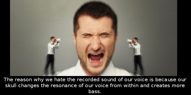 Why Does Our Recorded Voice Sound Different_Image 1