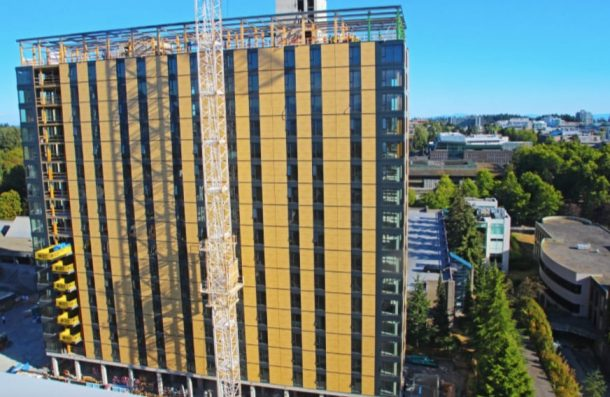 World's Tallest Wooden Residential Tower Nears Completion_Image 0