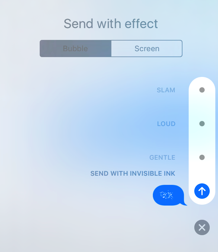 Here's How You Can Send Messages With Invisible Ink In New iPhone 7