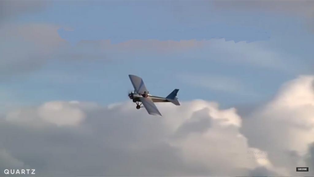 man builds a plane