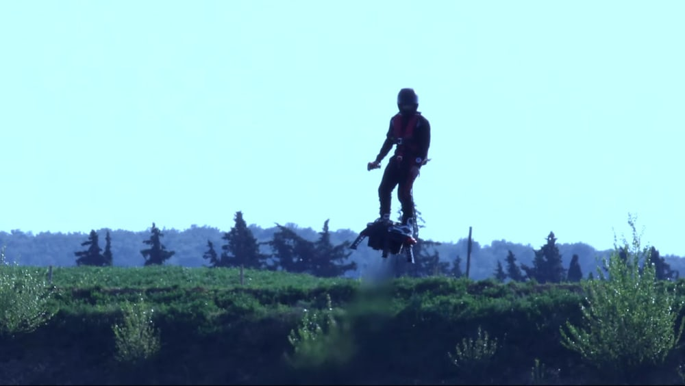 Company Reveals A New Hoverboard That Can Reach An Altitude Of 10,000 Feet