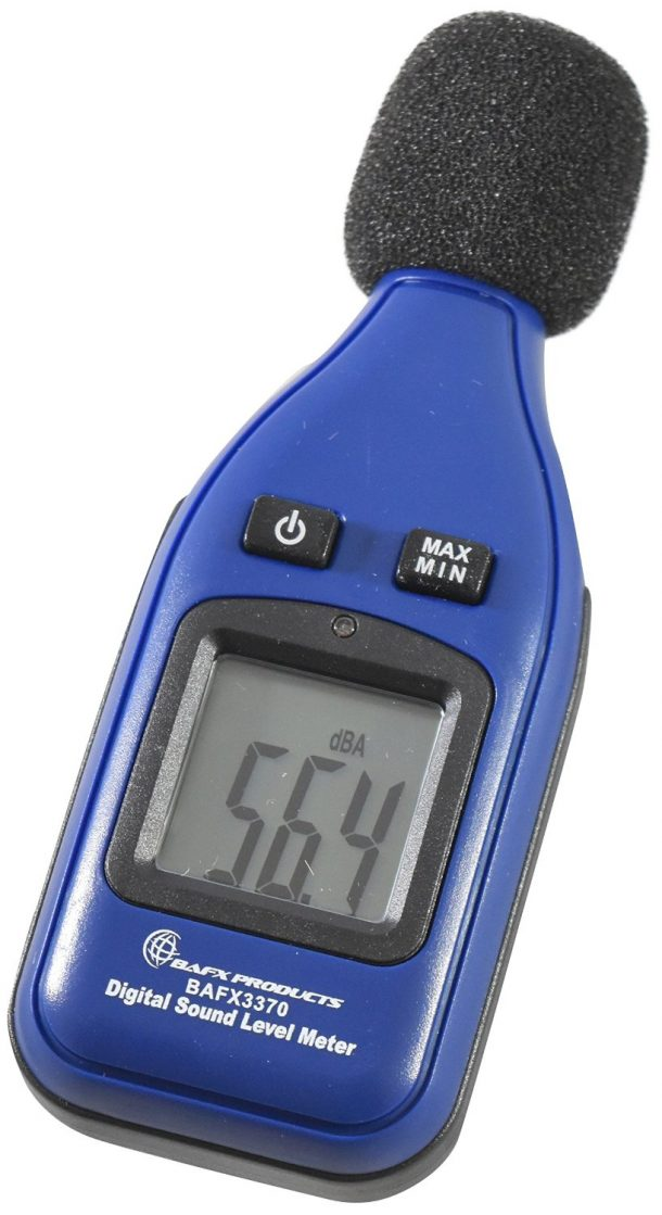 BAFX Products Decibel Meter