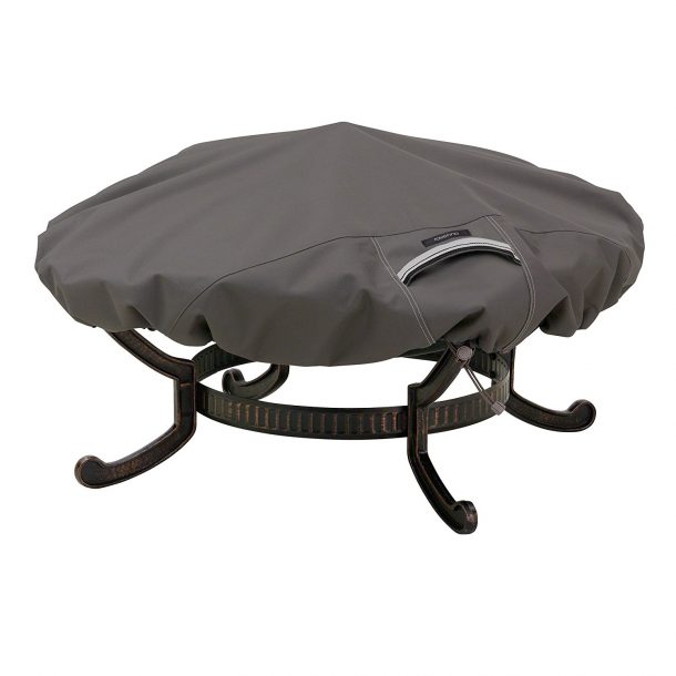 classic accessories fire pit cover image credits amazon
