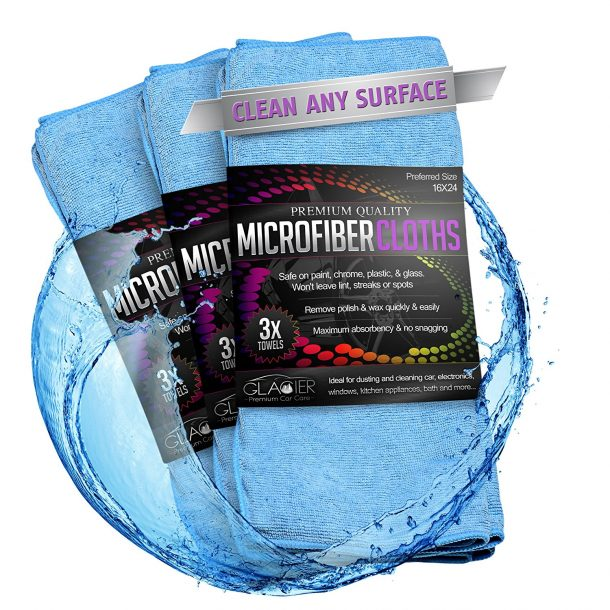 Glacier Car Care Car Cleaning Cloth