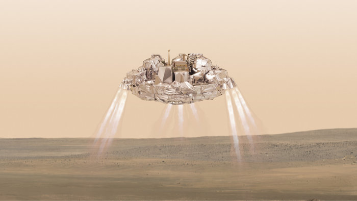European Space Agency Loses Contact With Mars Lander Just 50 Seconds Before Landing