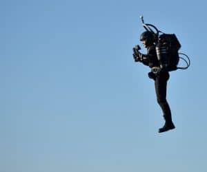 Jetpack flight