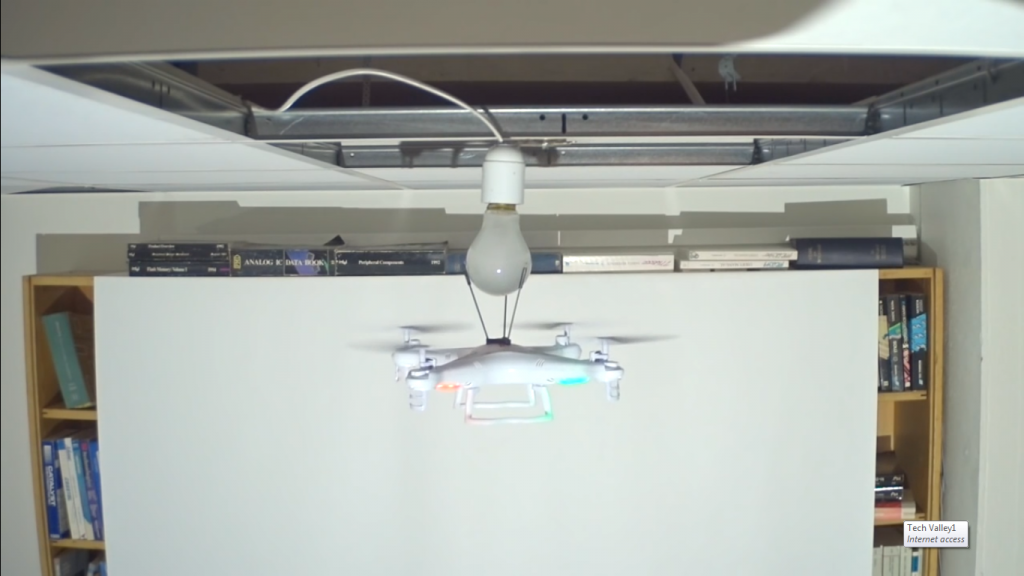 drone-and-bulb