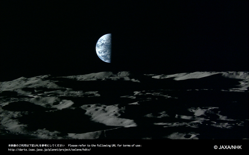 Watch the Earth Rise From The Moon In Remarkable HD Images