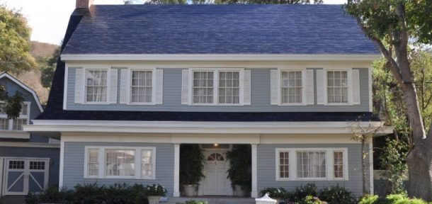 "Tesla ""Textured Glass Tile"" Solar Roof/Pic Credits: insideevs"