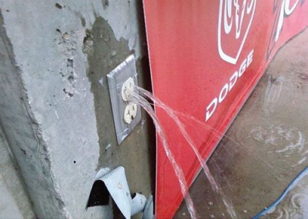 water-outlet