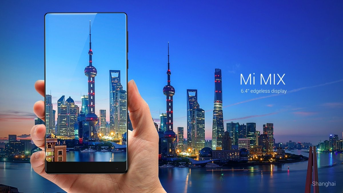 Xiaomi Unveils The Mi Mix Smartphone That Comes With Cutting Edge Technologies And An Edgeless Display