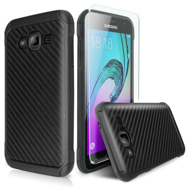TJS Case For Samsung Galaxy J7 Prime
