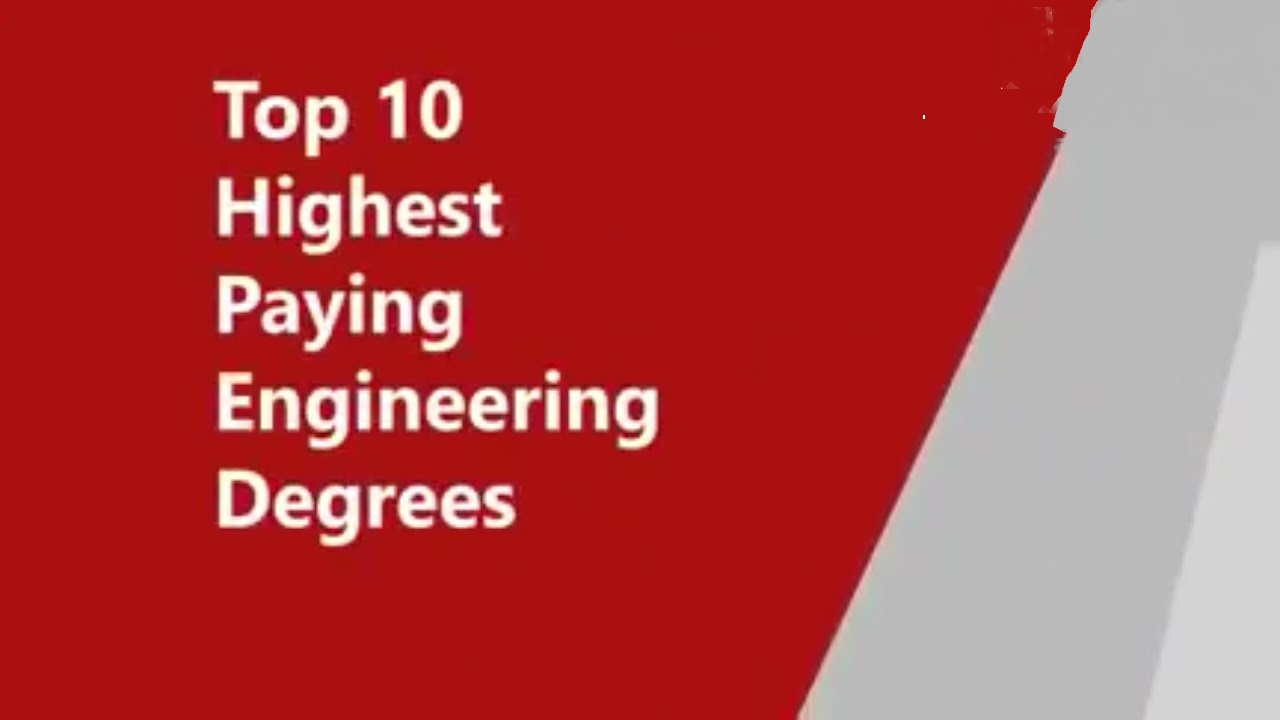 10 Highest Paying Engineering Fields Of 2016