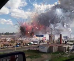 CNN Mexico fireworks blast