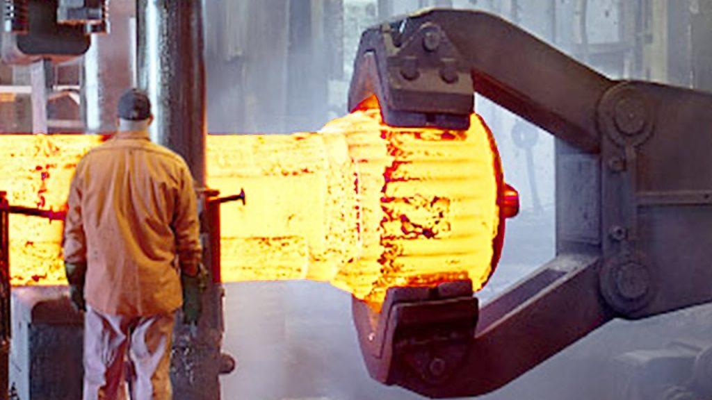 Heavy parts forging