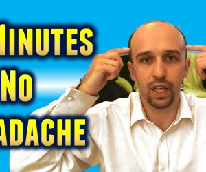 No headache in 2 minutes