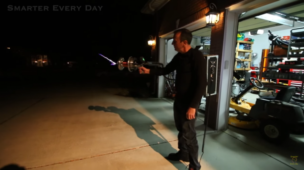DIY Tesla Gun Can Shoot 100,000 Volts Of Electricity 24 Inches In