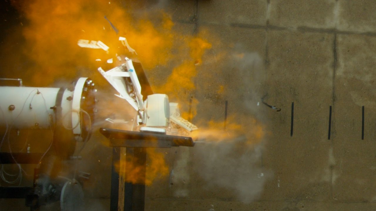 Watch An iMac Get Blasted Into Oblivion By A Powerful Combustion Tube