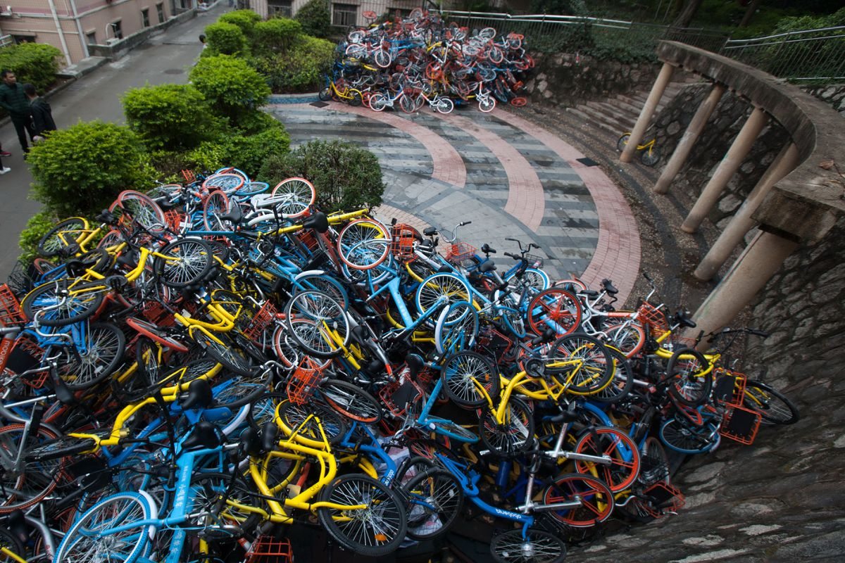 China bikes pile1