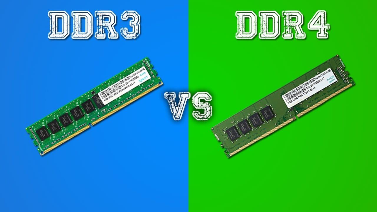 DDR3 V:s DDR4