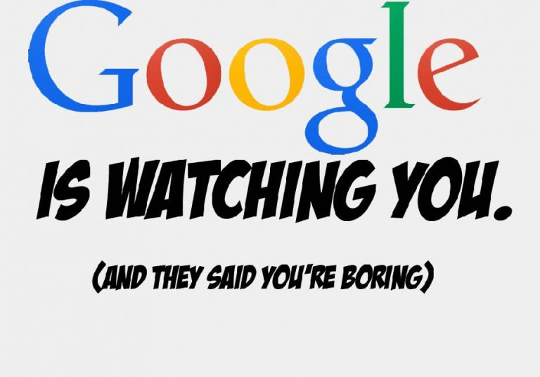 Google spying on you