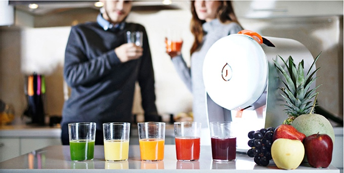JUISIR Is A New Juice Machine That Does Not Need Cleaning