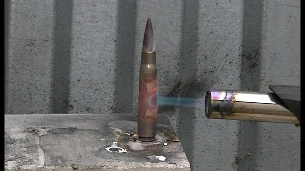 bullet vs gas torch