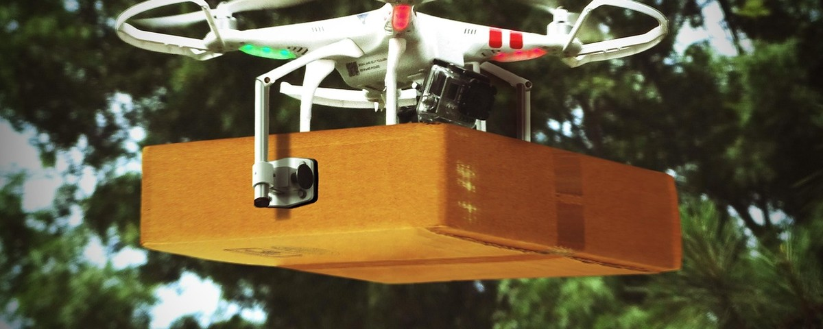 drone delivery mail