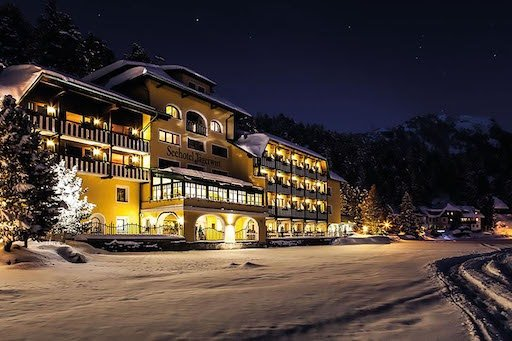hack attack on the hotel in Austria
