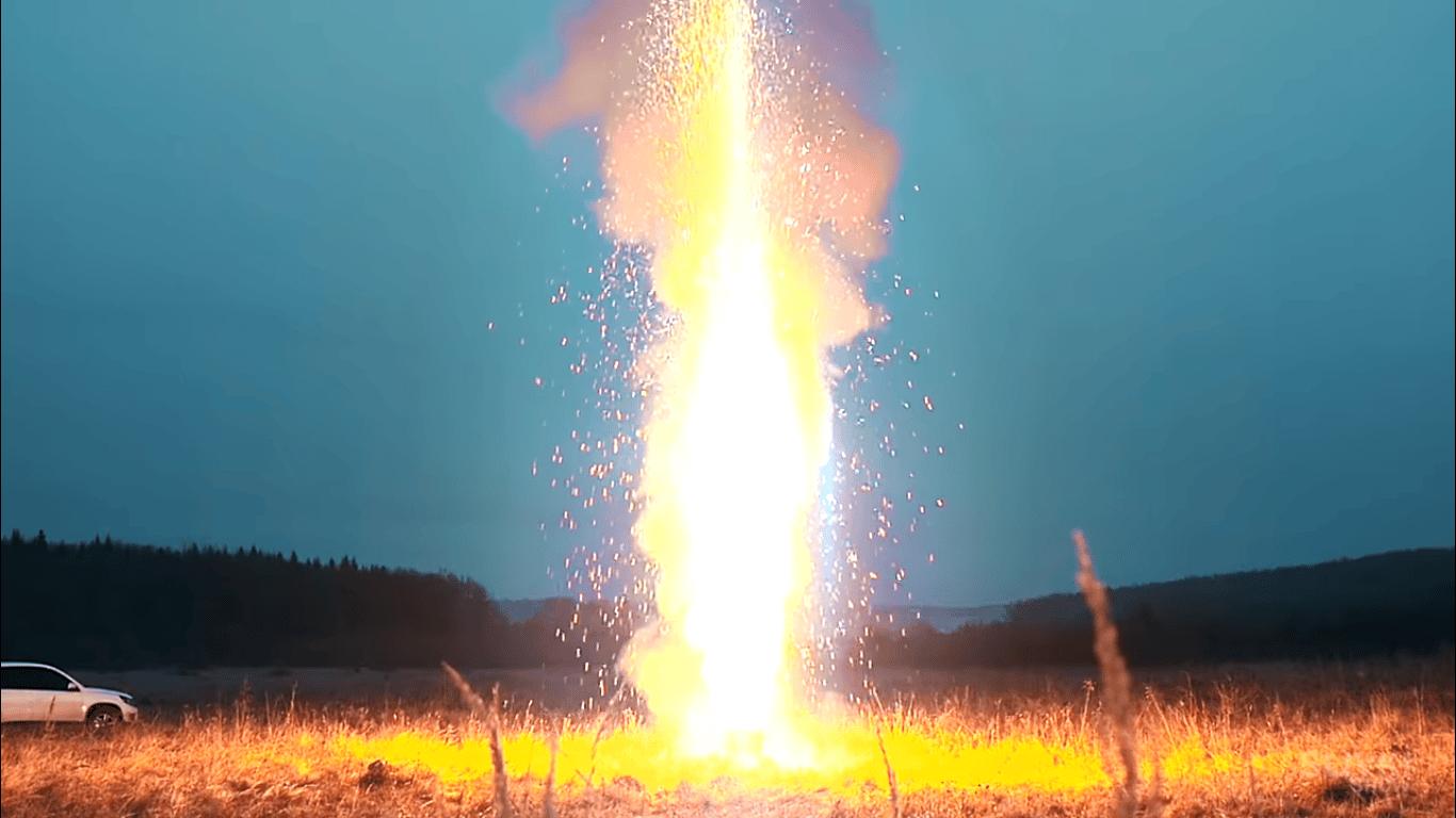 light up 10000 sparklers
