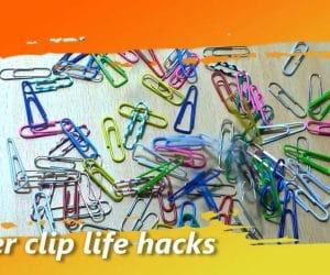 paper clip life hacks
