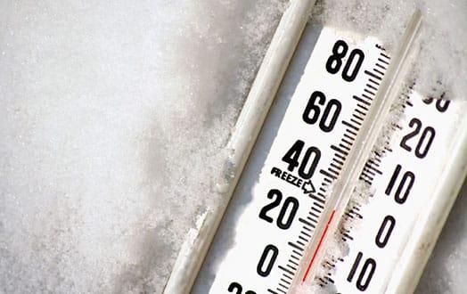 thermometerinsnow