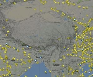why don't planes fly over tibet
