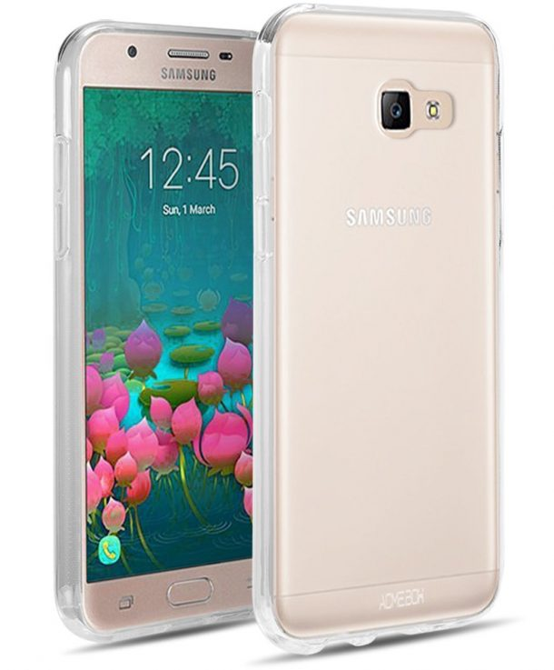 Galaxy On5 2016 Case, Galaxy J5 Prime Case, ACME.BOX [Anti-Shock] TPU Gel Rubber Slim Thin Flexible Soft Silicone Protective Case for Samsung J5 Prime / Galaxy On5 2016 G570 - Clear