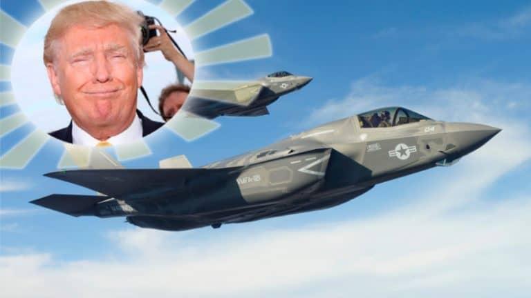 F-35 A Donald Trump